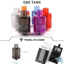 Teslacigs One Tank 2ml Purple 3pk Disposable by Teslacigs