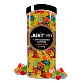 Just CBD CBD Gummy Bears 3000mg/250pcs/12mg by Just CBD