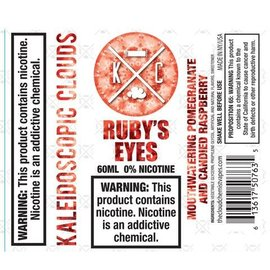 Kaleidoscopic Clouds Ruby's Eyes 0mg 60ml by The Cloud Chemis Vapes
