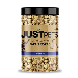 Just CBD CBD Infused Purr Cat Treats by Just Pets