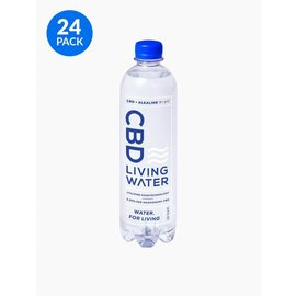 Water For Living CBD Living Water Case of 24 by Water For Living