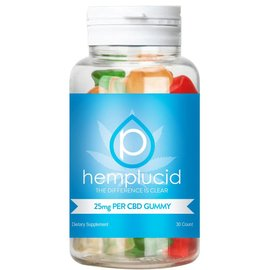 Hemplucid CBD Full Spectrum Whole-Plant Gummies 750mg/25mg/30ct by Hemplucid