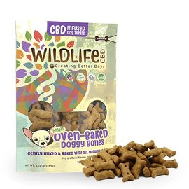 Creating Better Days CBD Wildlife Hemp Mini Oven-Baked Doggy Bones by Creating Better Days