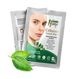 CBD Cellulose Tencel Face Mask by Go Green Hemp