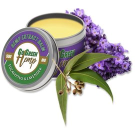 CBD Balm Salve Eucalyptus & Lavender 1000mg by Go Green Hemp