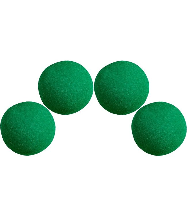 1 1/2 inch Super Soft Sponge Balls - Green (M13)