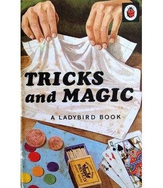 Book - USED Tricks And Magic A Ladybird Book 1969 Hard Cover VG (M7)