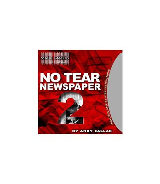 No Tear Newspaper 2, Gimmick and Online Instructions by Andy Dallas  and JB Magic