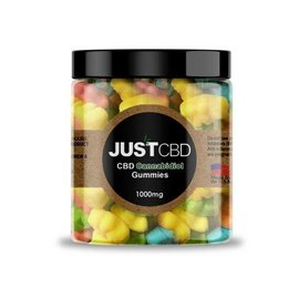 Just CBD CBD Sugar Coated Gummy Bears 1000mg/110pcs/9mg by Just CBD