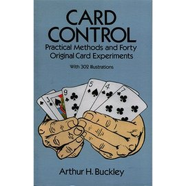 USED Card Control by Arthur H Buckley First Edition