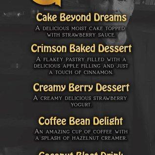 CBD Oil Full Spectrum David G Creamy Berry Dessert 300mg by Pinnacle CBD