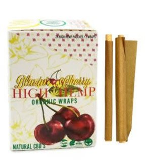 Blazing Cherry High Hemp Organic Wraps
