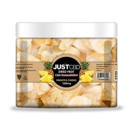 CBD Dried Fruit Pineapple Chunks 1000mg/12mg/82pcs by Just CBD