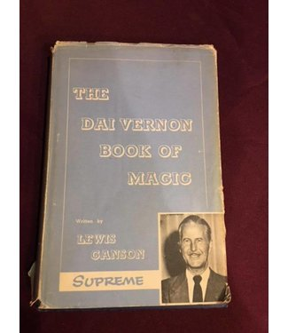 Book - USED Dai Vernon Book Of Magic by Lewis Ganson Hard Cover wDust Jacket Supreme VG
