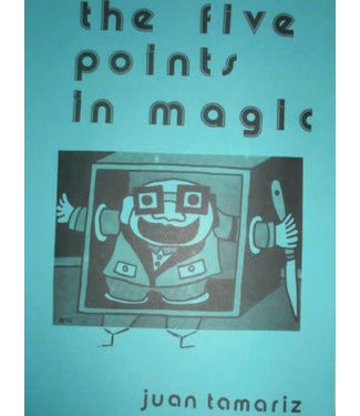 Book USED The Five Points In Magic by Juan Tamariz 1st Ed Spiral VG