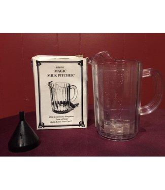 Used Vintage Milk Pitcher, Plastic by S.S. Adams