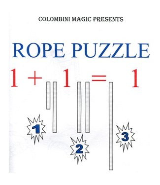 Rope Puzzle by Aldo Colombini
