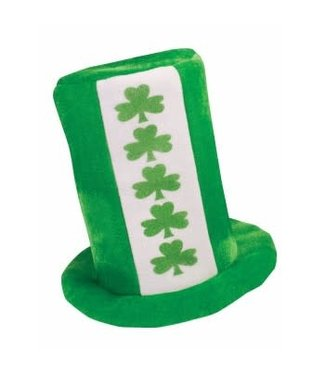 Forum Novelties Hat St. Patricks Tall Hat With Shamrocks