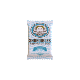 Shredibles 20mg White Chocolate Macadamia CBD Protein Bar