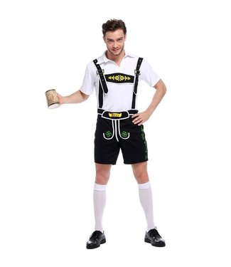 Oktoberfest German Lederhosen Beer Man Adult Large by Sexy Dream