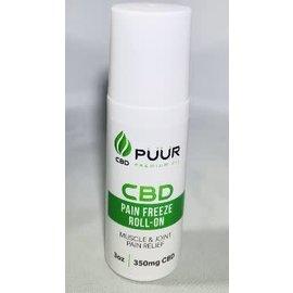 CBD Pain Freeze Roll-On 350mg/3oz by Puur CBD Premium Oil