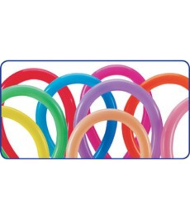 260Q Balloons Fashion Assortment - 100 Count