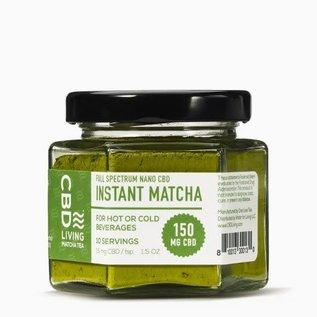 Water For Living CBD Living Matcha Tea 150 mg/15 mg