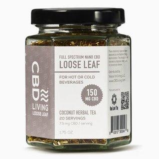 Water For Living CBD Living Coconut Herbal Tea 150mg/7.5 mg