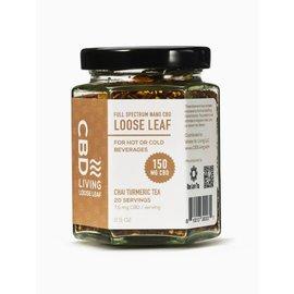 Water For Living CBD Living Chai Tumeric Tea 150 mg/7.5mg