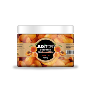 CBD Dried Fruit Apricots 750mg by Just CBD