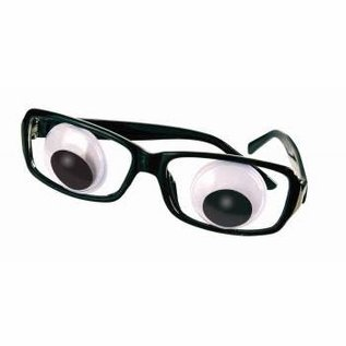 Forum Novelties Eye Glasses - Wiggle by Forum Novelties