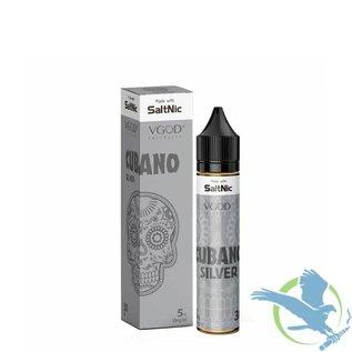 VGOD SaltNic Cubano Silver 25mg 30ml by VGOD