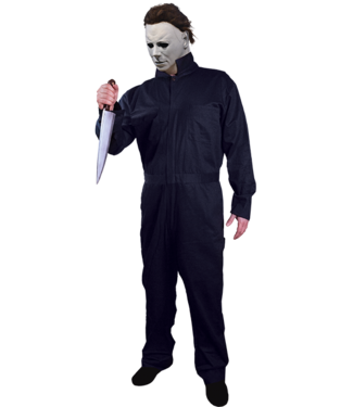 Trick Or Treat Studios Halloween II Michael Myers Deluxe Coveralls - Adult ONE SIZE  by Trick Or Treat Studios