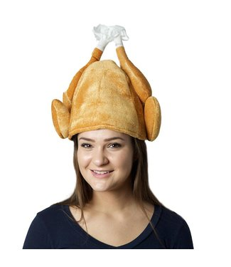 Forum Novelties Roasted Turkey Hat