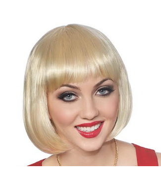 Costume Culture by Franco American Bob Blonde - Wig by Costume Culture