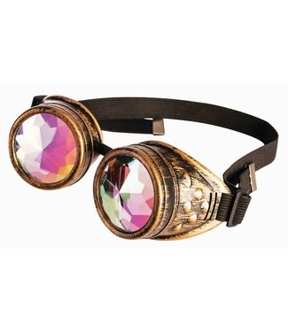 Forum Novelties Steampunk Holographic Goggles by Forum Novelties