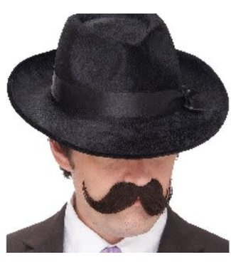 Seasonal Visions International English Mustache, Brown by Seasonal Visions International
