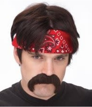 Seasonal Visions International The Biker Mustache, Brown by Seasonal Visions International