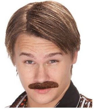 Seasonal Visions International 70's Dude Mustache, Brown by Seasonal Visions International