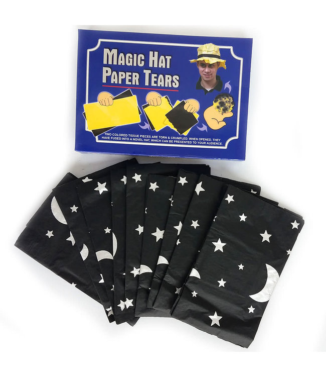 Wizard Paper Hat Tears 12 Pack by Fun Time Magic