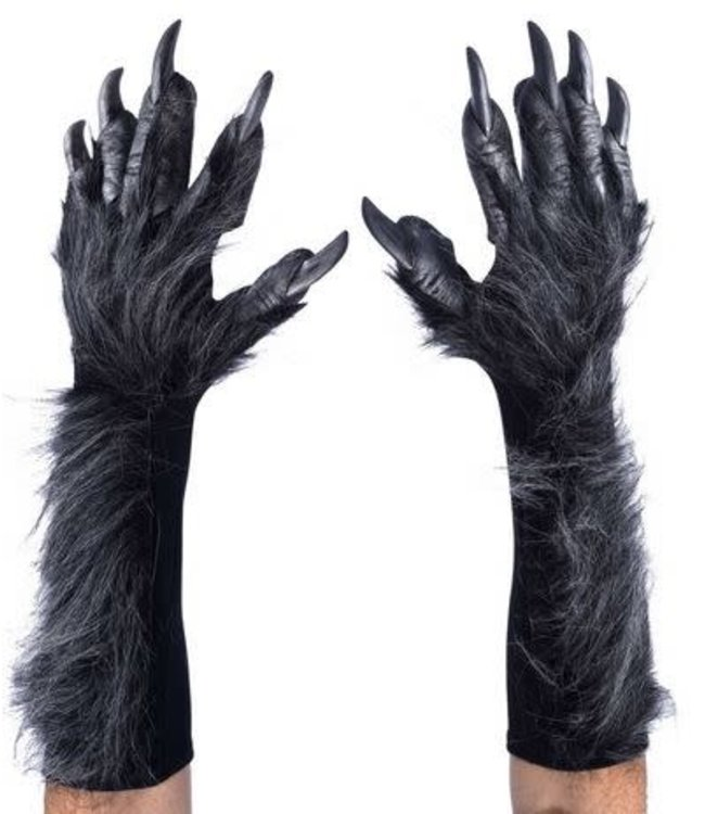 zagone studios New Killer Wolf Gloves/Hands, Grey