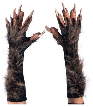 zagone studios New Wolf Gloves/Hands