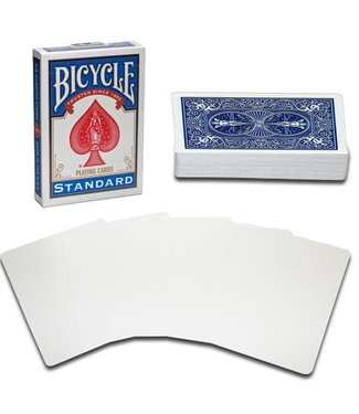 United States Playing Card Company Blank Face Bicycle Cards - Blue (M10)