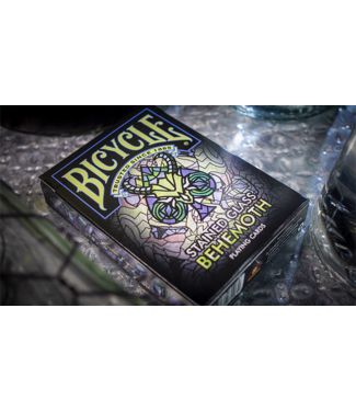 Bicycle Stained Glass Behemoth Playing Cards by USSC
