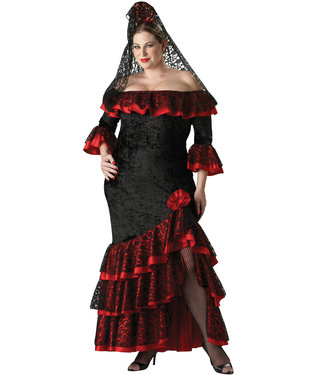InCharacter Senorita Adult Plus Size 2XL Costume by InCharacter