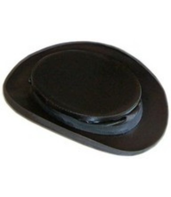 Collapsible Black Silk Top Hat - 7 1/4 by Top Hats Of America DBA Krieger Top Hats