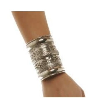Bracelet of Troy - Gold Cuff by Western Fashion Inc.
