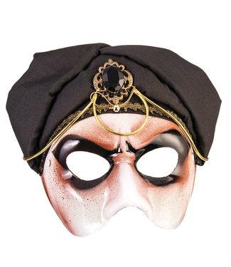 Forum Novelties Male Black Scarf Half Mask by Forum Novelties