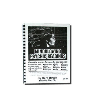 Mindblowing Psychic Readings by Herb Dewey