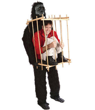 Get Me Outta This Cage, Gorilla - Adult One Size